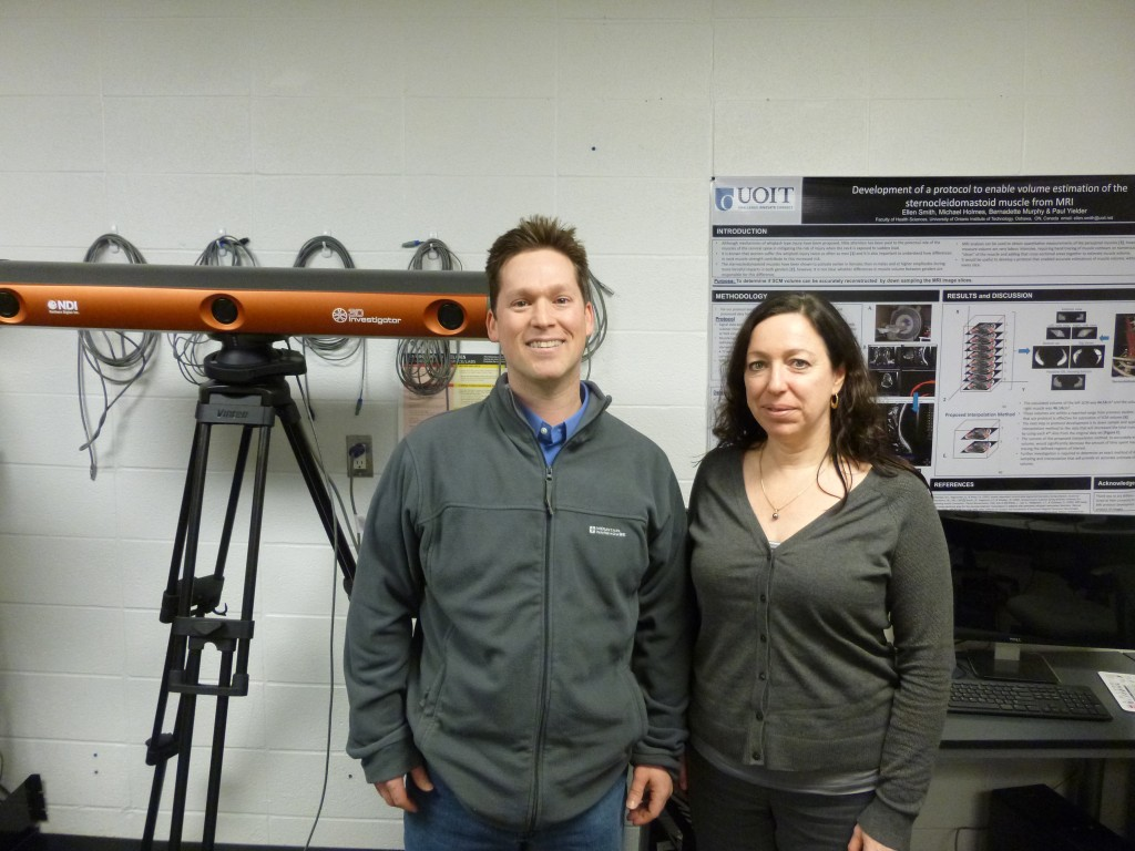 Dr. Smith and Dr. Murphy at University of Ontario Institute of Technology